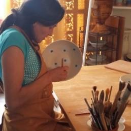 M la céramique Montpellier cours peinture céramique